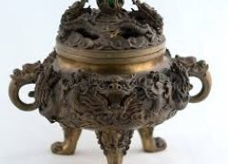 Spiritual Inspiration dragon incense burner