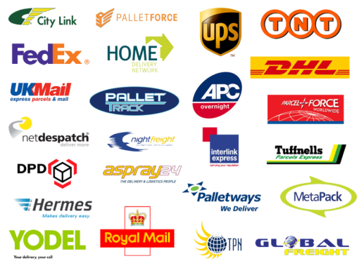 We deliver right to your doorstep with these companies, and please call for shipping cost – +44 208 150 3336